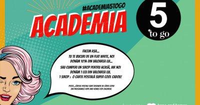 """Academia 5 to go"", susține tinerii din centrele de plasament"