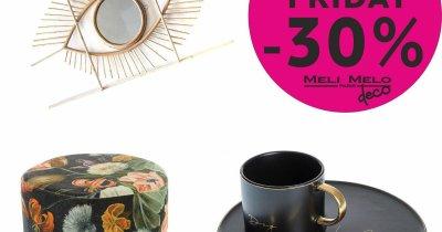 Black Friday 2019 la Meli Melo – reduceri la bijuterii și decorațiuni