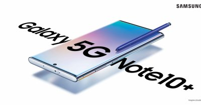 Samsung Galaxy Note 10 5G disponibil la Orange și Vodafone