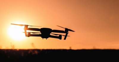"""""""Vulturul"""" digital care elimină dronele ostile de pe cer"""
