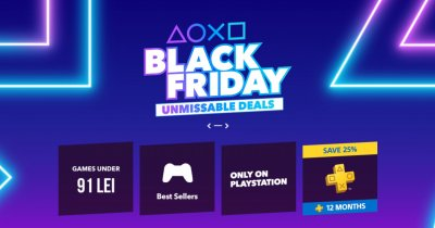 Black Friday pe PlayStation Store: reduceri de până la 60%