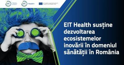 EIT Health susține dezvoltarea inovării în sănătatea din România