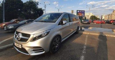 Mercedes-Benz Clasa V - mașina antreprenorului care câștigă două ore
