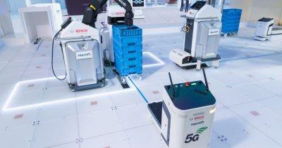 Bosch anunță o soluție 5G pentru Industry 4.0