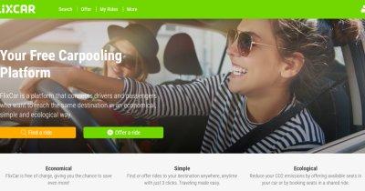 FlixBus lansează o platformă de carpooling, FlixCar
