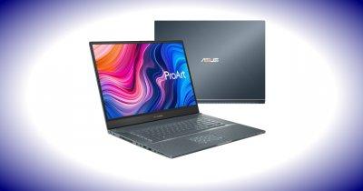 Acest laptop ASUS destinat creatorilor de conținut e disponibil local