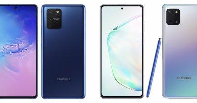 Samsung anunță oficial noile telefoane: Galaxy S10 Lite și Note10 Lite
