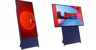 Samsung a făcut un TV vertical pentru generația TikTok