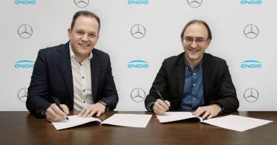 Mercedes și Engie, stații de încărcare pentru mașini electrice în țară