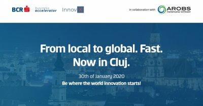 Acceleratorul BCR-InnovX se lansează în Cluj la final de ianuarie