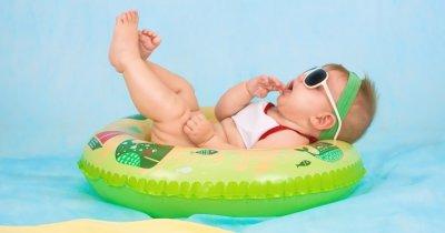 Idei de afaceri: 1 mil. lei din cursuri de înot pentru bebeluși