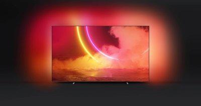 Philips anunță noi televizoare OLED cu diagonală de 55 de inci