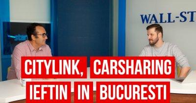 🎥🎧 Povestea Citylink, cel mai nou serviciu de carsharing local