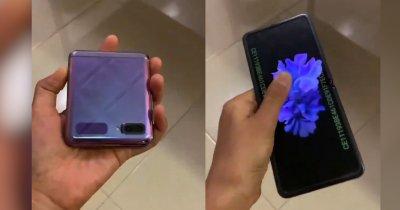 Samsung Galaxy Z Flip: un nou video cu telefonul îți arată la ce să te aștepți