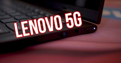 Hands On Lenovo Yoga 5G: Un laptop cu baterie de 24 de ore