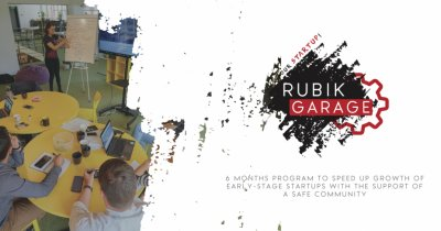 Rubik Garage - pre-acceleratorul pentru startup-uri early stage