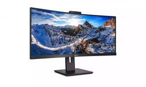 Acest monitor ultra-wide pentru birou de la Philips vine cu cameră web integrată