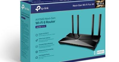TP-Link Archer AX10, cel mai accesibil router cu Wi-Fi 6, disponibil în România