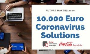 Coronavirus   Future Makers, 10.000 de euro pentru soluții de inovare socială