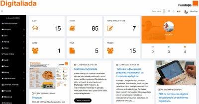 Coronavirus | Digitaliada de la Fundația Orange ajută elevii să învețe de acasă