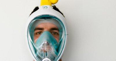 Coronavirus | Cum să transformi măști de snorkeling în măști cu ventilatoare