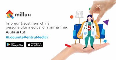 Coronavirus | Milluu oferă gratuit locuințe pentru medici