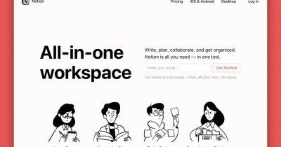 Notion, startup-ul care facilitează munca remote, evaluat la 2 miliarde $