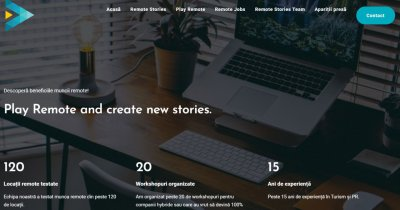 Remote Stories, startupul românesc cu resurse pentru cei care lucrează de acasă