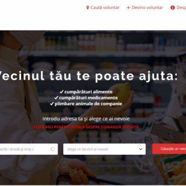 Vecinultău.ro, platforma prin care poți ajuta oamenii vulnerabili de lângă tine