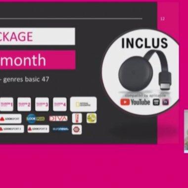Premieră de la Telekom Romania: Abonament TV prin Google Chromecast și aplicație