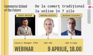 Webinar Commerce School of the Future: De la comerț clasic la online în 7 zile