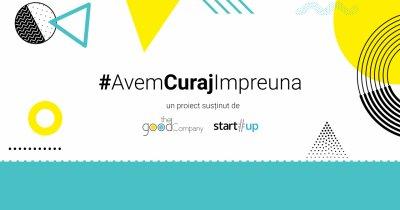 #AvemCurajImpreuna, inițiativă de susținere comună a antreprenorilor din România