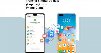 Phone Clone: Cum transferi datele pe noul telefon Huawei din vechiul dispozitiv