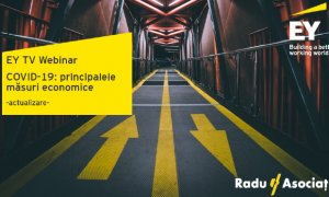 Webinar EY despre principalele măsuri economice