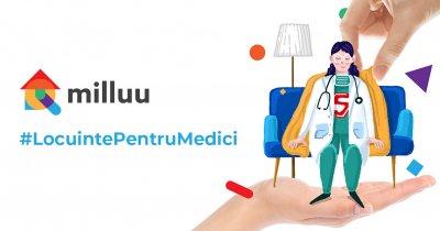Coronavirus | Inițiativa Milluu #LocuintePentruMedici, extinsă în alte 5 orașe