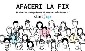 Afaceri la Fix: Împrumutăm pagina de Facebook start-up.ro unui business pe zi