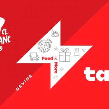 Rebranding EuCeMananc: devine Tazz by eMAG și livrează de la Mega și Sensiblu
