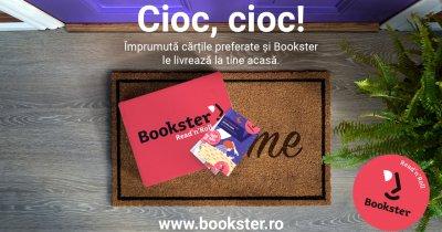 Bookster îți aduce acasă cărțile preferate pe perioada stării de urgență