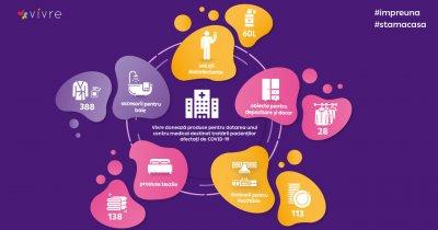 Coronavirus | Vivre Deco dotează centrul medical amenajat de Auchan&Leroy Merlin
