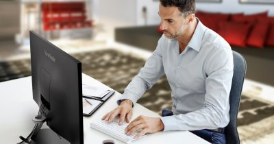ViewSonic anunță monitoarele ergonomice din seria VX85