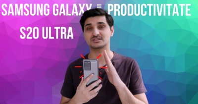 Samsung Galaxy S20 Ultra 5G, cel mai bun smartphone pentru productivitate