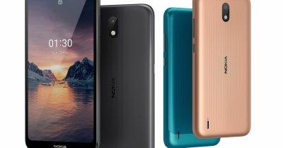 Nokia 1.3, smartphone cu Android la 430 de lei, disponibil în România