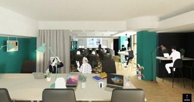 Nou spațiu de coworking Fab Lab în Iași, realizat în parteneriat cu BCR și Modex