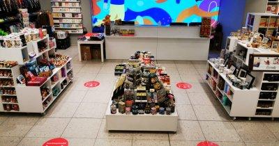 Se reîntoarce comerțul: Diverta redeschide o parte din magazine de azi