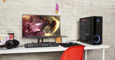HP lansează noi desktopuri și monitoare de gaming în gama OMEN