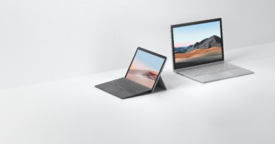 Microsoft Surface Go 2 și Surface Book 3, disponibile oficial în România