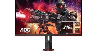 Monitoare de gaming: AOC lansează cinci modele noi pe piața din România