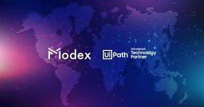 Parteneriat Modex & UiPath la nivel global pentru mai multă securitate a datelor