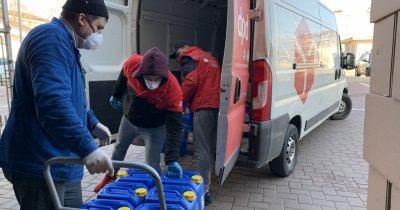 7,5 tone de echipamente aprovizionate gratuit în spitalele din România