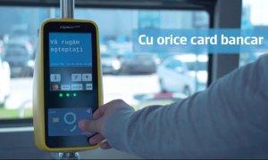Bucureștiul contactless: Plata cu cardul în autobuzele STB, mulțumită BCR